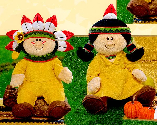 Plush Indian Kids