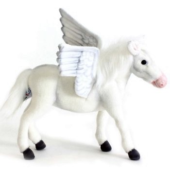 Hansa Stuffed Plush Pegasus