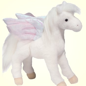 Jewel Stuffed Plush Pegasus