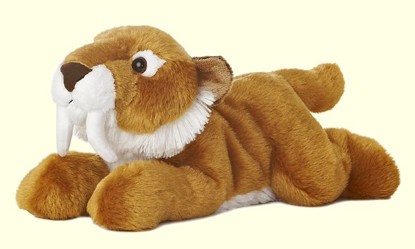 Stuffed-Sabre-Tooth-Tiger