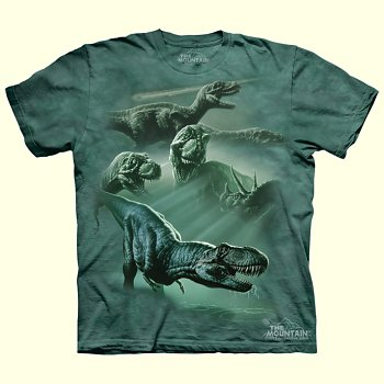 Dinosaur Collage T-Shirt