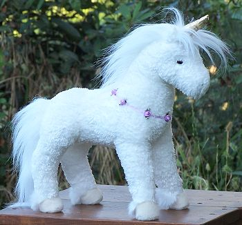 Sunshine Stuffed Plush Unicorn