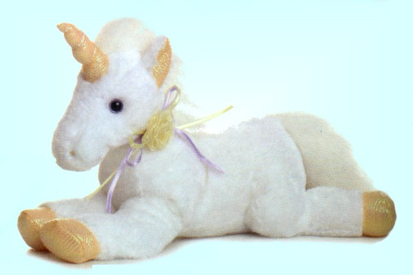 "Aurora ""Venus"" Stuffed Plush Unicorn"